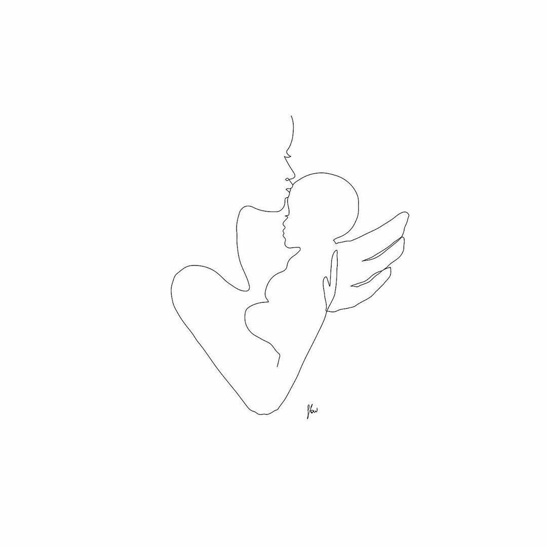 Rouw om verlies van een baby op Pinterest